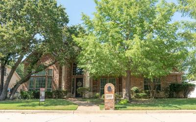 Fort Worth Single Family Home Active Option Contract: 12348 Green Ash Drive