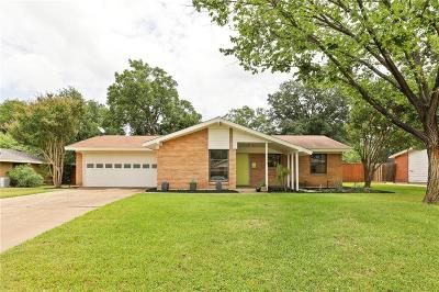 Irving Single Family Home Active Contingent: 3708 Bryn Mawr Drive