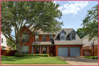 Grapevine Single Family Home For Sale: 1809 Autumndale Drive
