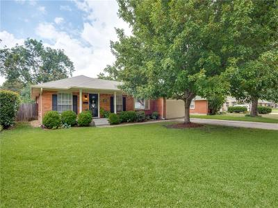 Farmers Branch Single Family Home Active Option Contract: 2976 Eric Lane