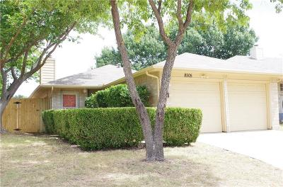 Fort Worth Single Family Home For Sale: 8505 Delta Way