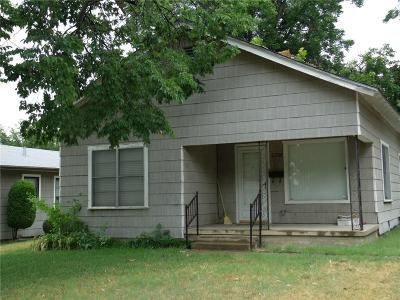 Fort Worth Single Family Home For Sale: 2818 NW 25th Street