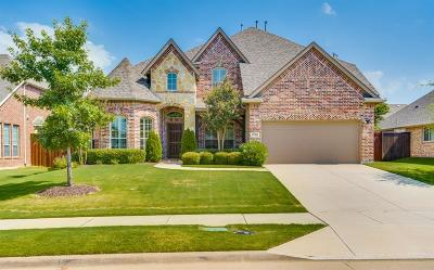 Frisco Single Family Home Active Option Contract: 9724 Crown Ridge Drive