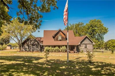 Johnson County Single Family Home Active Contingent: 10233 N County Road 603 Road N