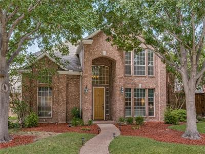 Plano TX Single Family Home Active Option Contract: $495,000