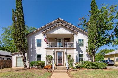 Brownwood Single Family Home For Sale: 1511 Durham
