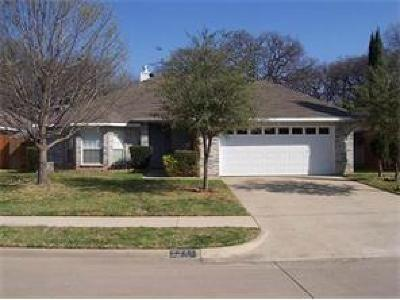 Irving Residential Lease For Lease: 2546 Shupe Court