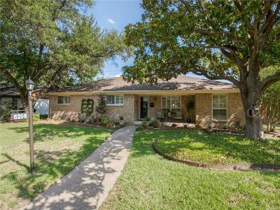 Dallas Single Family Home For Sale: 6206 Berwyn Lane