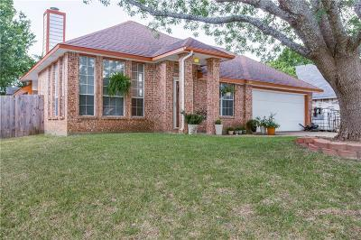 Cedar Hill Single Family Home Active Option Contract: 817 Clover Hill Lane