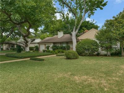 Fort Worth Single Family Home For Sale: 3712 Somerset Lane