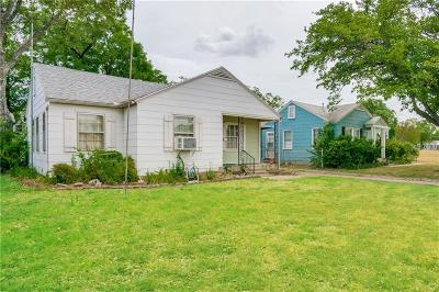 Fort Worth Single Family Home For Sale: 3117 Wayside Avenue