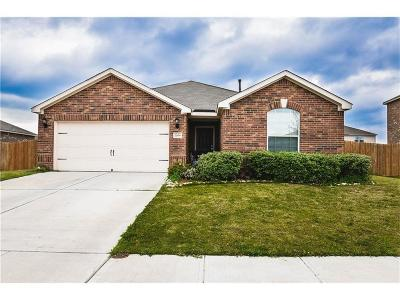 Crowley Single Family Home Active Option Contract: 1109 Tacks Lane