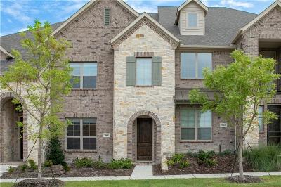 Mckinney Townhouse For Sale: 7008 Huckleberry Drive