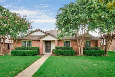Dallas Single Family Home Active Option Contract: 7151 Rothland Street