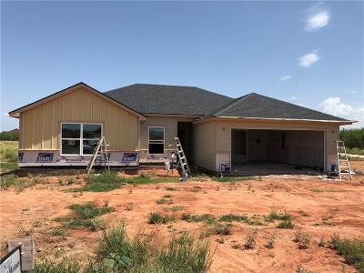 Abilene Single Family Home For Sale: 366 Hog Eye Road