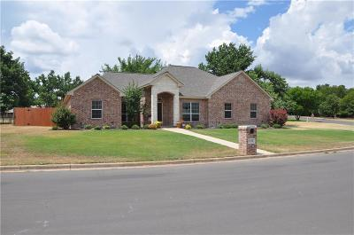 Stephenville Single Family Home Active Option Contract: 1212 Prairie Wind Boulevard