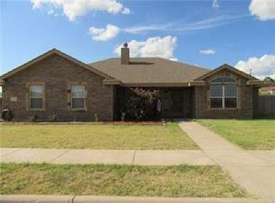 Abilene Single Family Home Active Option Contract: 118 Sugarberry Avenue