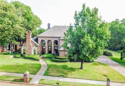 Flower Mound Single Family Home For Sale: 1800 Foxborough Trail