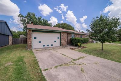 Allen Single Family Home Active Option Contract: 803 Circle Cove Drive