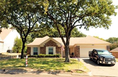 North Richland Hills Single Family Home Active Option Contract: 6724 Inwood Drive