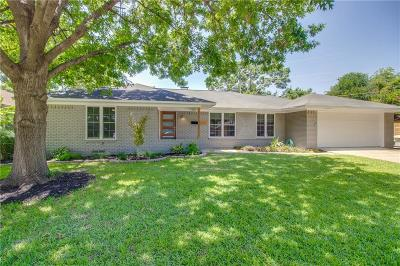 Dallas Single Family Home For Sale: 6721 Belford Drive