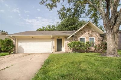 Forney Single Family Home For Sale: 513 Southlake Drive