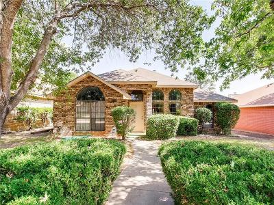 Cedar Hill Single Family Home Active Option Contract: 1116 Witherspoon Road
