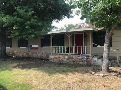 New Hope Single Family Home Active Option Contract: 100 Fisher Road