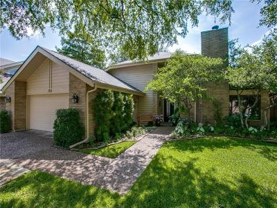 Plano Single Family Home Active Option Contract: 1512 Mockingbird Drive