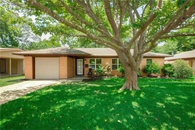 Seagoville Single Family Home Active Option Contract: 743 High School Drive
