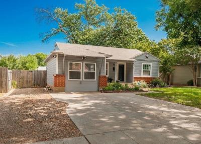 Irving Single Family Home For Sale: 1241 Glenwood Drive