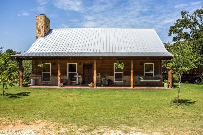 Erath County Single Family Home Active Option Contract: 4640 County Road 456
