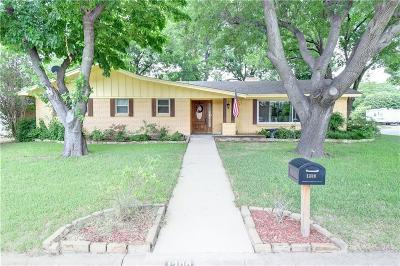 Benbrook Single Family Home Active Option Contract: 1300 Sproles Drive