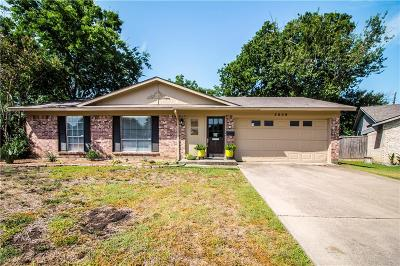 Plano Single Family Home Active Option Contract: 3308 Crestforest Circle