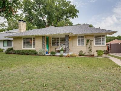 Dallas Single Family Home For Sale: 6531 Winton Street