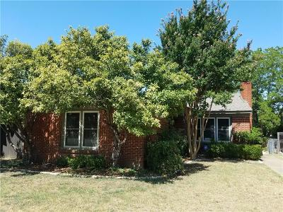 Fort Worth Single Family Home For Sale: 2732 Forest Park Boulevard