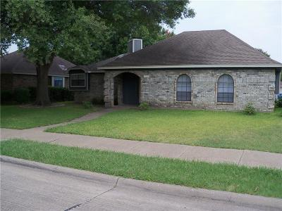 Rowlett Single Family Home For Sale: 3621 N Remington Drive