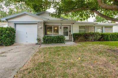 Garland Single Family Home Active Option Contract: 1505 Meadowcrest Drive
