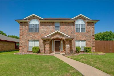 Wylie Single Family Home Active Option Contract: 1102 Hall Drive