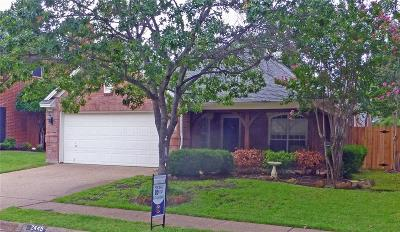 Bedford Single Family Home For Sale: 2445 Aberdeen Drive