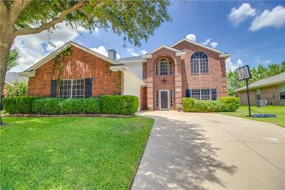 Wylie Single Family Home Active Contingent: 1705 Country Walk Lane