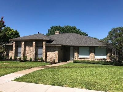 Garland Single Family Home For Sale: 2329 Club Meadow Drive
