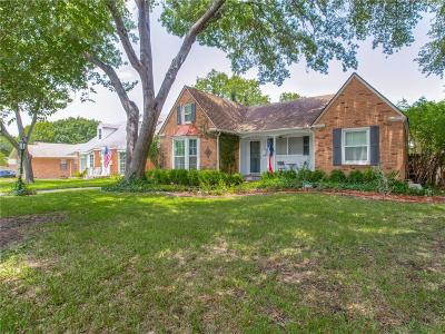 Dallas Single Family Home For Sale: 1753 Crowberry Drive