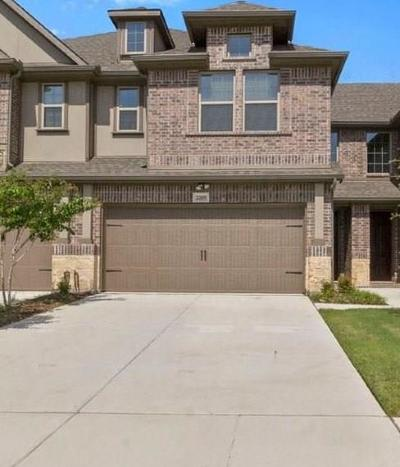 Plano Townhouse For Sale: 2205 Caniesto Street