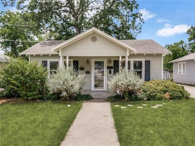 Fort Worth Single Family Home For Sale: 2512 Dalford Street