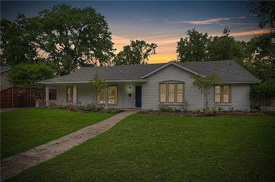 Fort Worth TX Single Family Home For Sale: $790,000