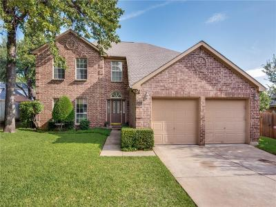 Bedford Single Family Home Active Option Contract: 3516 Paint Brush Lane