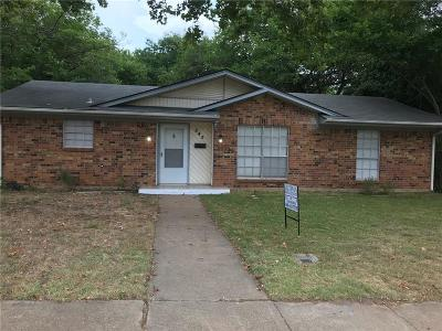 Duncanville Single Family Home Active Option Contract: 343 Carder Street
