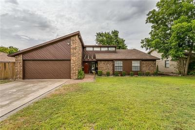 Benbrook Single Family Home Active Option Contract: 457 Meadowhill Drive