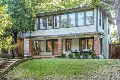 Dallas Single Family Home For Sale: 206 N Edgefield Avenue